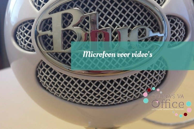 Microfoon voor video's