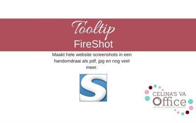 Tooltip | FireShot