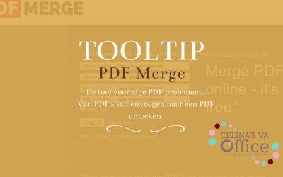 Tooltip | PDF Merge